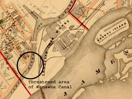 Historic Canal in Richmond in DANGER of being destroyed by amphitheater